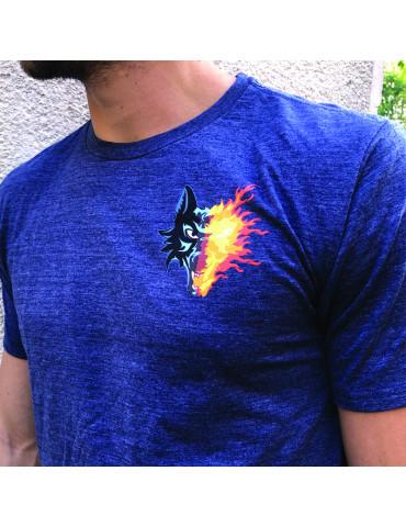 T shirt bleu Grenoble