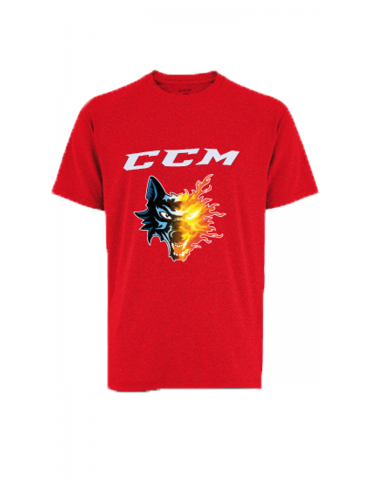 T shirt training rouge CCM