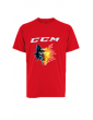 T shirt training rouge CCM...